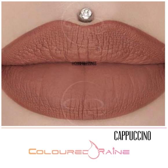 Coloured💦Raine Matte Paint Lipstick NWT